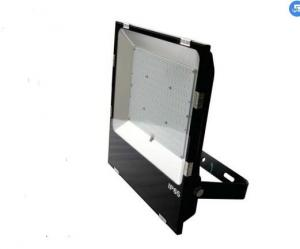 China IP65 External Led Flood Lights , High Lumen Outdoor Led Flood Light Black Housing Color on sale