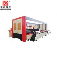 2500w Enclosed Pallet Table Fiber Laser Sheet And Tube Cutting Machine Price GF-1530JHT