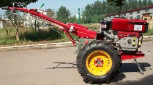 China Economical 2 Wheel Garden Tractor / 15 Hp 18 Hp Dongfeng Walking Tractor on sale