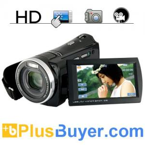 China 1080P HD Digital Video Camcorder (Touchscreen, Motion Detection) on sale