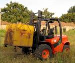 Powerful easy maintenance offroad terrian new 3.5T forklift truck for sale