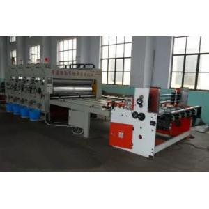 China Auto Feeder Chain Feeding type semi automatic flexo printing slotting machine on sale