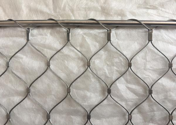 AISI316 Grade Flexible Wire Rope Ferrule Mesh Free Sample for sale ...