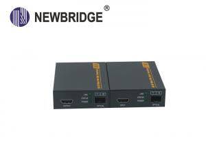 China Full HD Hdmi Optical Fiber Extender 225MHz With SFP Model / Data RS232 on sale