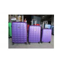 ABS Suitcases Lightweight Carry On Luggage Trolley Bag Set With 4 Airplane Wheels