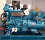 China Light Weight 30KW Diesel Generator , Small Diesel Generators For Boats wholesale