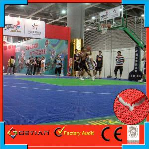 China Water-Proof Portable Basketball Court Flooring With Non-Toxic on sale