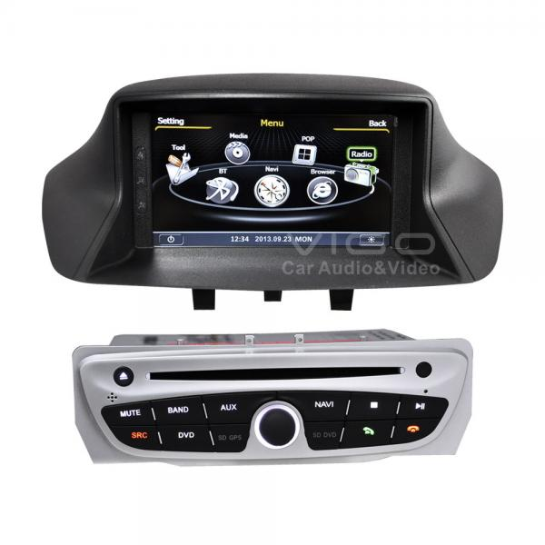 renault megane iii renault auto radio sat nav multimedia gps navigation c145 for sale. Black Bedroom Furniture Sets. Home Design Ideas