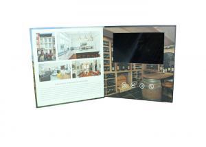 China luxury handmade tft lcd Video Postcard for birthday , advertising digital video brochure on sale