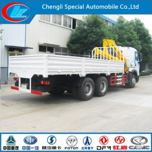 China Advanced Techonology HOWO 6X4 Truck Crane with XCMG Crane (CLW1170) on sale
