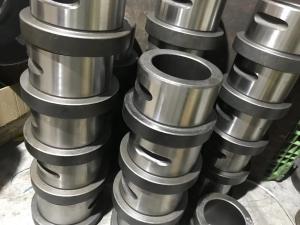 China Powder Metallurgy Durable Thrust Bushing Stellite Sleeve Bearing Bushing on sale