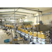 China 8000BPH Apple Fruit Processing Line With Pet Bottle Package on sale