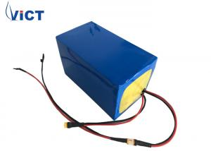 China Golf Cart 12.8 Volt Lithium Battery Pack , LiFePO4 Deep Cycle Battery Easy Installation on sale