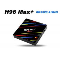 H96 MAX+ RK3328 4G 64G Android 8.1 smart tv box with dual wifi