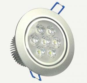 China High Efficiency Recessed 7W Led Ceiling Downlight , SMD5630 Led Down Light Fixtures on sale