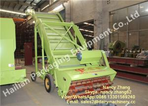 Electric Motor Cow TMR Feed Mixer Mobile Silage Reclaimer For Farm
