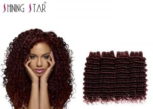 China Deep Weaving Peruvian Curly Human Hair 4 Bundles For Pretty Woman Afrian on sale