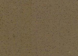 China Solid Surface Imitation Stone Wall Panel / Dark Brown Granite Quartz Countertop on sale