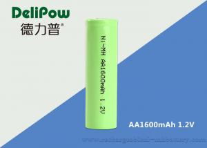 China 1.2 Voltage Long Cycle Life AA Nimh Rechargeable Battery 1600mAh on sale