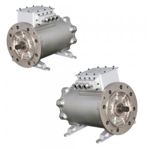 China 8 Pole Brushless 315KW 12000RPM Permanent Magnet AC Motor on sale