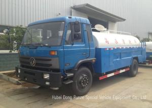 China DFA High Pressure Jet Water Tanker Truck With High Pressure Jet Water Pump on sale