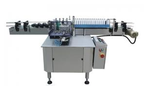 China Cantin Paper Paste Automated Labeling Machines , Liner Labeler Equipment on sale