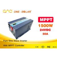China 50A MPPT Solar Inverter Single Phase DC AC 1500w Pure Sine Wave Inverter Without Battery on sale