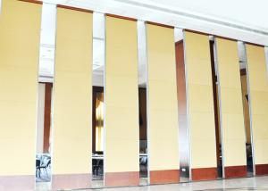 China Multe Color Soundproof Movable Partition Wall For Meeting Room 600 / 1230mm Width on sale