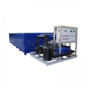 China 20T Block Ice Machine Direct Cooling Integral With 960KG Water Consumption on sale