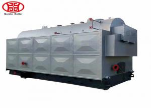 China Industrial 1 - 20 Mt Wood Steam Boiler , Fire Tube Wood Pellet Boiler on sale