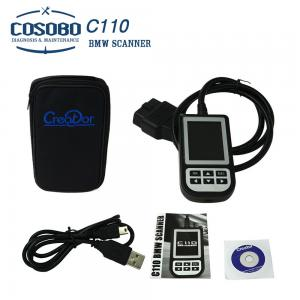 China Black Creator C110 BMW Diagnostic Tool OBD2 Code Reader Scanner on sale