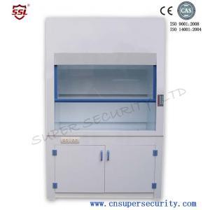 Quality capacité élevée de Pfh de Rouille-résistance de capot de vapeur de laboratoire de polypropylène de 8mm pour la substance corrosive for sale