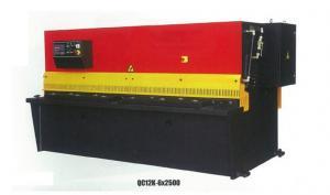 China Manual Hydraulic CNC Shearing Machine For Cutting Sheet Metal 40*2500 on sale