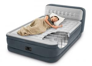 China Square Flocked Air Bed Customized Size Smooth Touching 14 . 6KG Net Weight on sale