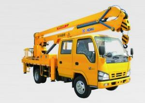 China 18.3m Operating Height Boom Lift Truck 200kg Rated Lood XZJ5068JGK on sale
