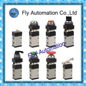 China 3/2 Way 1/4 Aluminum Body MSV98322 Shako Mechanical Pneumatic Manual Valves on sale