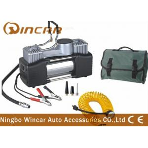 China Portable Car Air Compressor Air Pump Tire Inflator With Carry Bag on sale