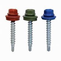 hot-dip galvanizing, black, dacromet Hex head full thread white zinc plated bolt screws