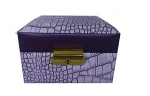 China Retail Cardboard Gift Boxes 110*110*90 , Leather Jewelry Boxes on sale