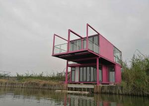 China Unique Style Custom Container House Complex Modular Container Homes Lake House Dwelling on sale