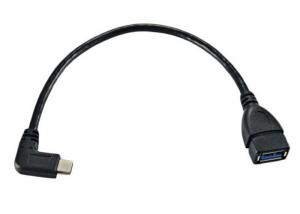 China 25 CM Non - Toxic USB OTG Cable / Type C OTG Cable For Mac Google Chromebook on sale