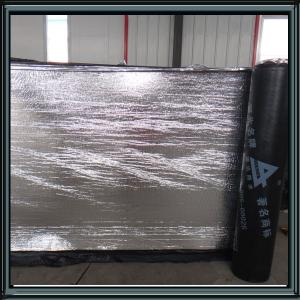 China 2mm reinforced aluminum foil SBS modified bituminous waterproof membrane roofing material on sale