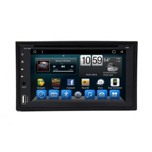 China Universal 6.2 Double Din Stereo Radio Android Car Navigation Multimedia Player on sale