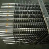 China Heat Exchanger Length 18000mm TP409 Stainless Steel Square Pipe on sale