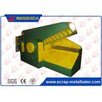Metal Hydraulic Alligator Shear For Scrap Pipes Different Shape Steel Waste in Metal Recycling Plant