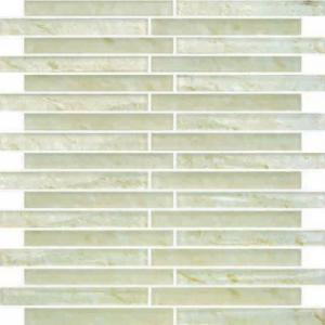 China Home Decoration kitchen Wall Glass Mosaic Tiles Linear on sale
