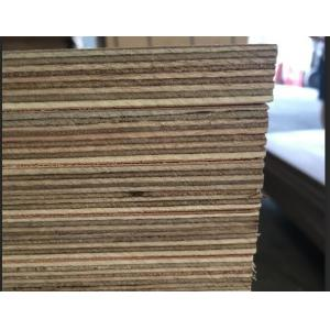 Marine Grade Commercial Plywood Okoume Face / Back With Phenolic Glue
