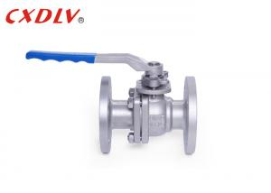China Handle Operated Full Port Flanged Ball Valve Double Flange Ends GB Standard on sale