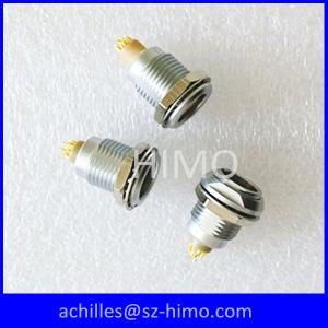 China push pull self-latching 9 pin electrical lemo connector FGG EGG supplier
