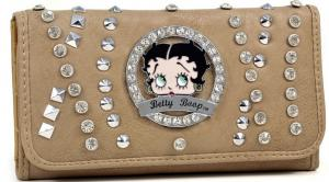 China wholesale fashion betty boop wallets with Rhinestone on sale
